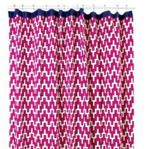 Jonathan Adler Geometric Shower Curtain